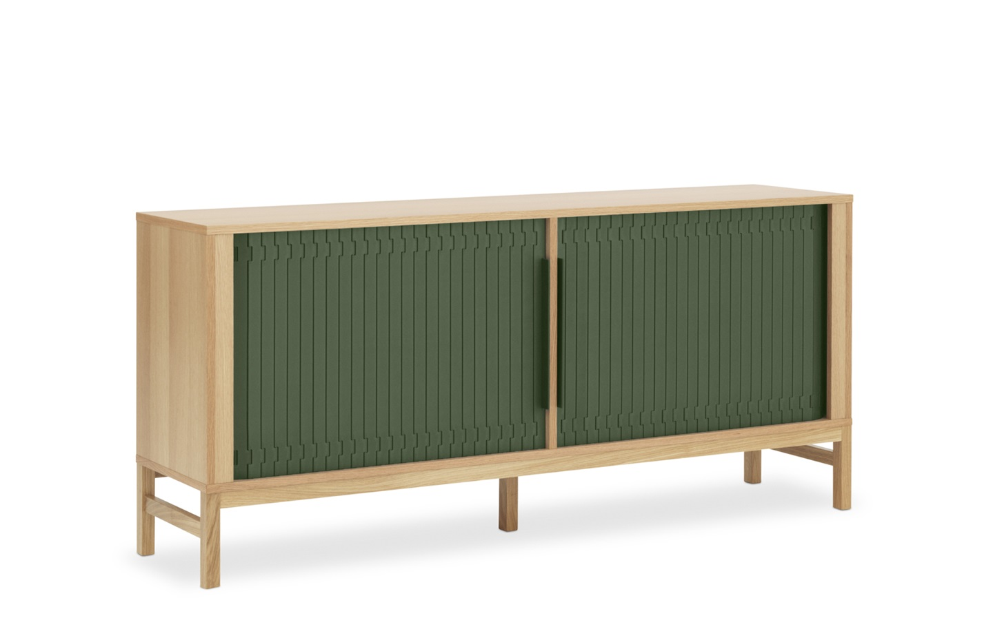jalousi sideboard in dark green flexible storage unit. Black Bedroom Furniture Sets. Home Design Ideas