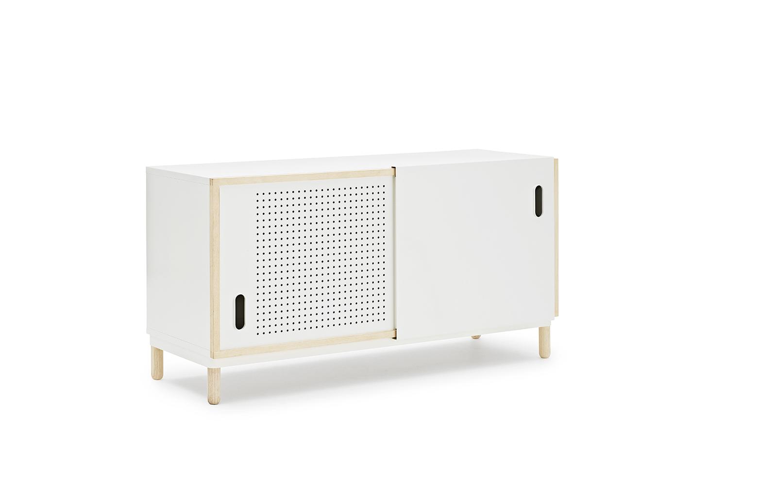 kabino sideboard in white  a versatile urban storage piece - kabino