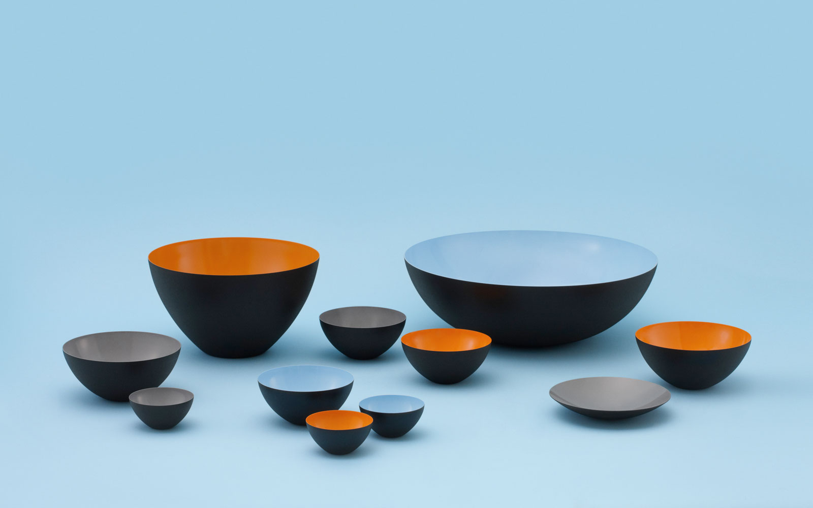 grey krenit bowl 25 cm a modern classic by normann copenhagen. Black Bedroom Furniture Sets. Home Design Ideas