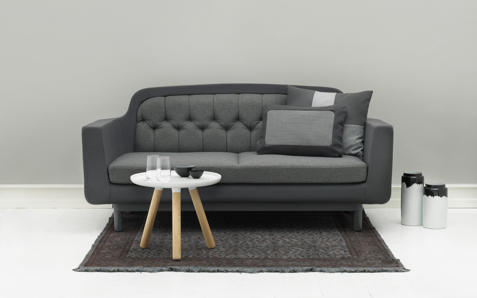 onkel sofa recognizable scandinavian design fabrics from gabriel. Black Bedroom Furniture Sets. Home Design Ideas