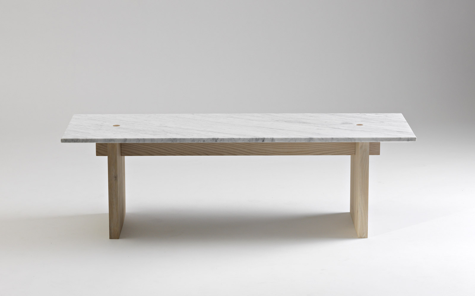 Solid Coffee Table - Minimalistic design in marble and ash