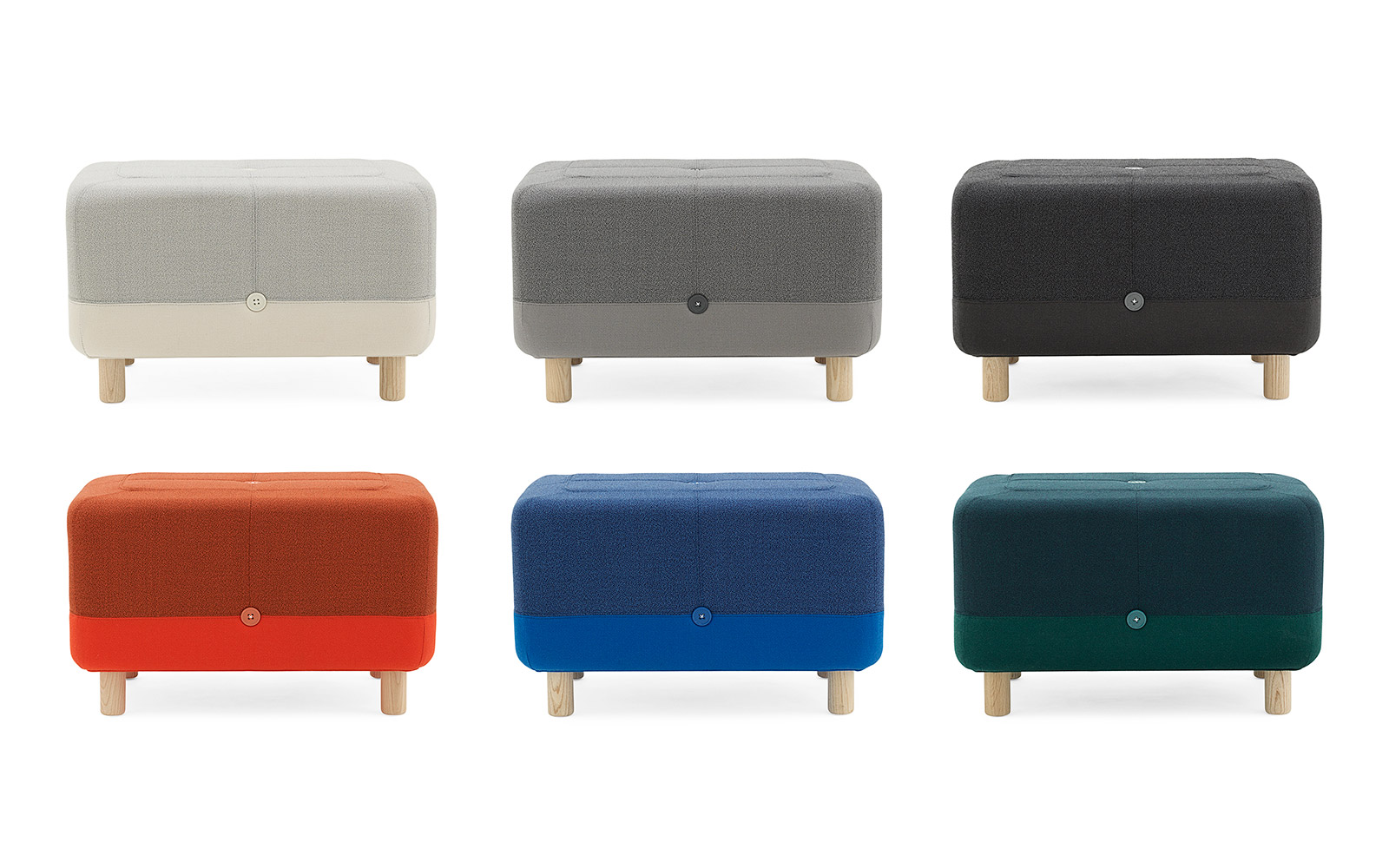designer poufs footstools  poufs crowdyhouse designer  - designer poufs
