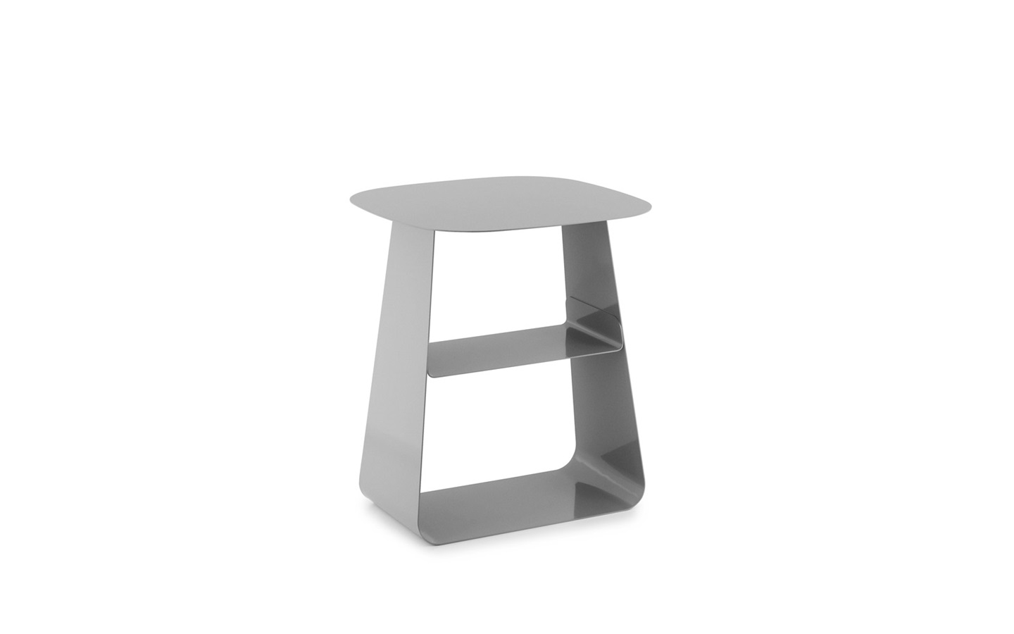 Stay table 40x40 cm stone grey for Table exterieur 40x40