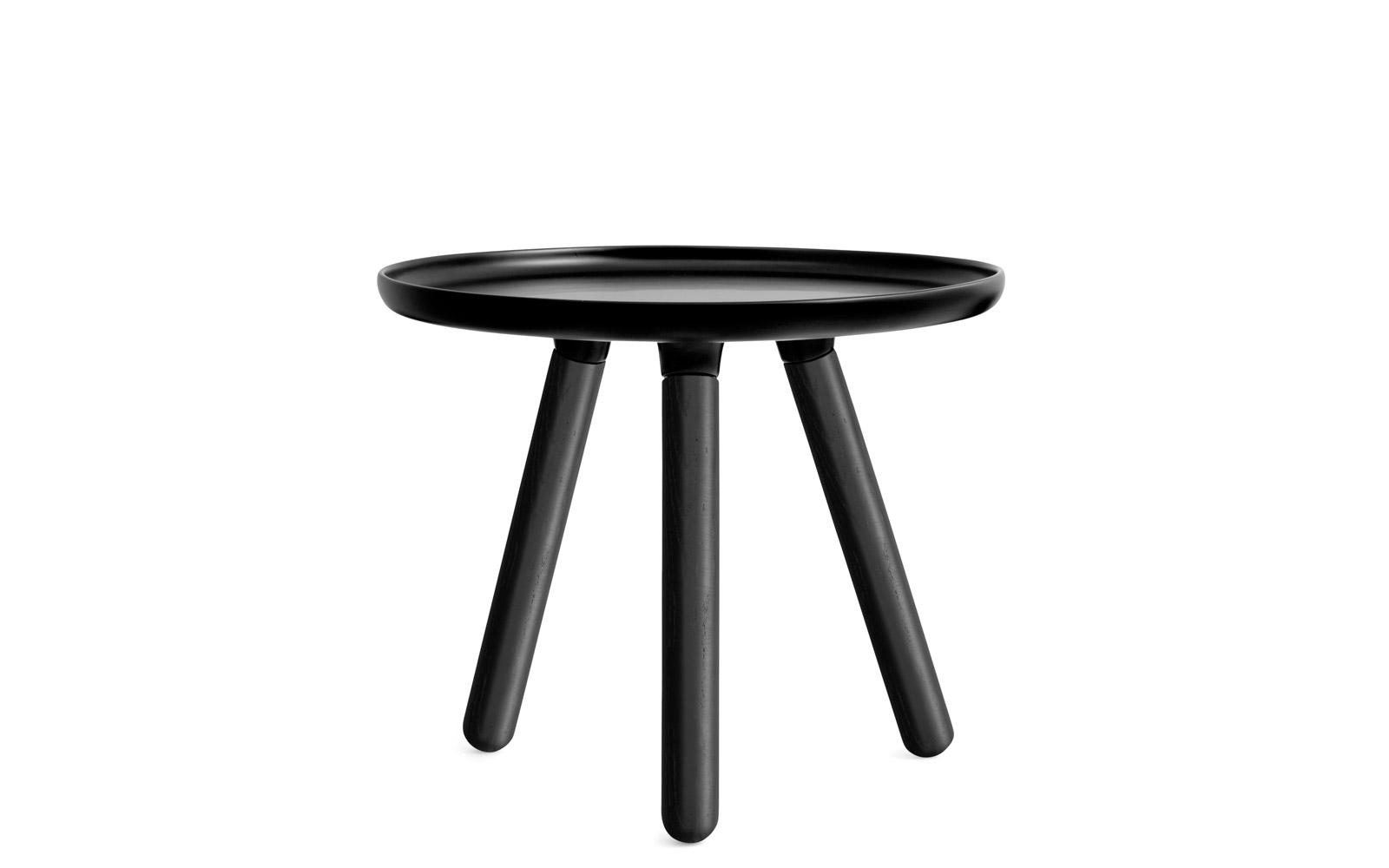 Tablo Table A minimalistic coffee table in black with legs of