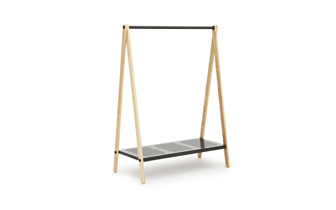 wooden clothes rack australia