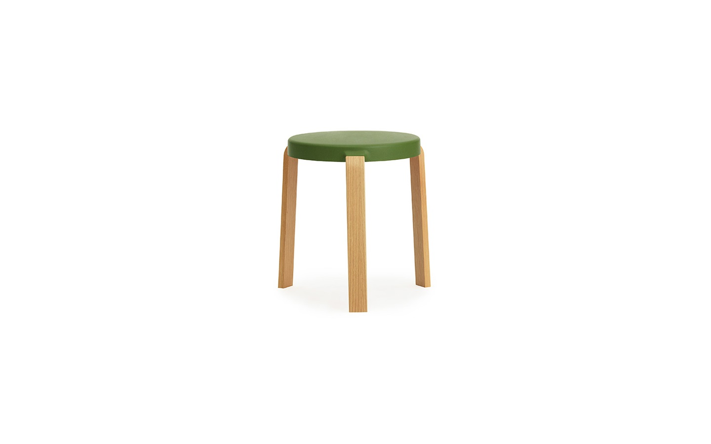 Tap Stool In Oak Olives Innovative Three Legged Stool