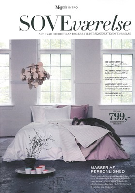 Magasin Living September 2012 Bau Lamp nature bedroom