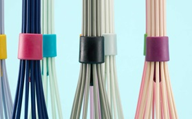 Beater whisk white light blue grey nude lavender pink mint navy blue group details blue background