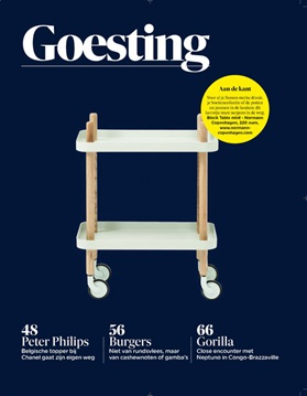 Block Table by Normann Copenhagen - De Morgen Magazine (BE)
