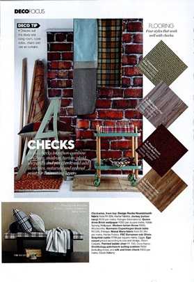South Africa, Elle Decoration, February 2014, Block