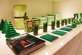 Colors Flagship store green books funnel