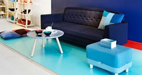 Showroom Onkel sofa setup