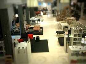 Flagship Store Design if you were a fly on the wall tiltshift