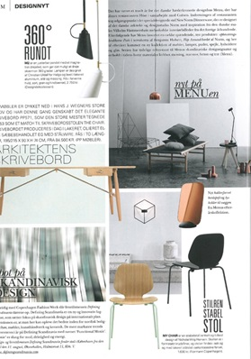 Normann Copenhagen, My Chair, Rum, Press Clip