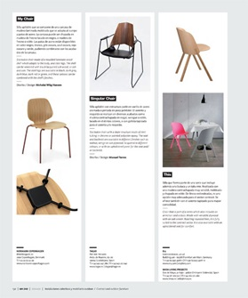 Normann Copenhagen, My Chair, On Diseno, Press Clip