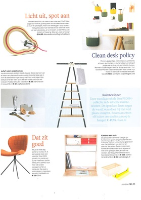 Netherlands, 101 woonideeën, June 2014, Pocket, slice, buk