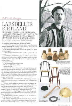 Lars Beller Fjetland in Elle Decoration, February 2014