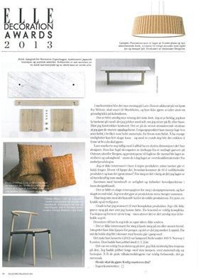 Solid in Elle Decoration, February 2014