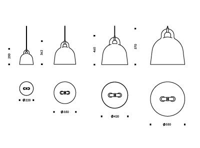 Bell Lamp | Pictogram | Normann Copenhagen