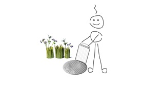 Normann Copenhagen Be Creative And Win 2009 egg grass by ines p