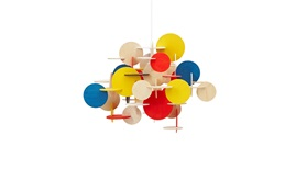 Bau lamp multi small