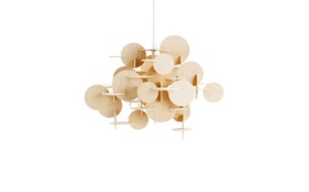 Bau lamp nature small