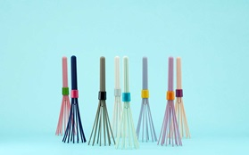 Beater whisk white light blue grey nude lavender pink mint navy blue group all blue background