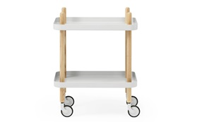 Block side table grey