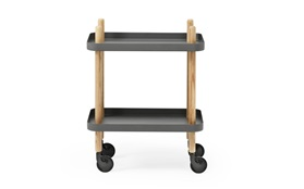 Block Table - Normann Copenhagen - Simon Legald - Dark Grey