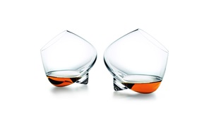 Cognac glass liqueur frontview fuction