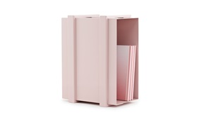 COLOR BOX STORAGE UNIT rose