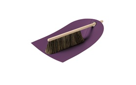 Dustpan purple
