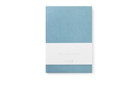Daily Fiction Notebook large powder blue