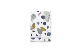 Daily Fiction Notepad space stone light