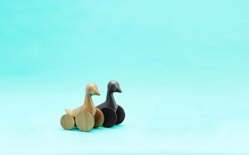 Ducky wooden figure by Normann Copenhagen