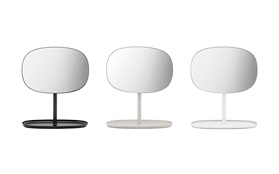 Flip mirror - Normann Copenhagen - black, white, sand