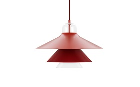 Red Ikono Lamp by Normann Copenhagen