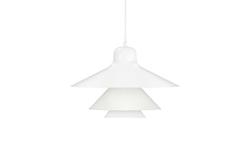 White Ikono Lamp by Normann Copenhagen