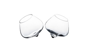 Liqueur glass two glasses