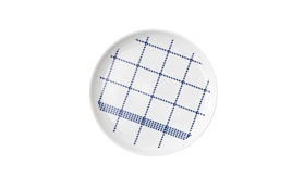 Mormor blue plate small topview
