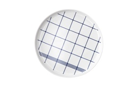 Mormor blue plate large topview