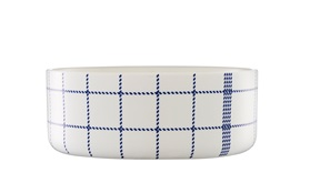 Mormor blue bowl large frontview