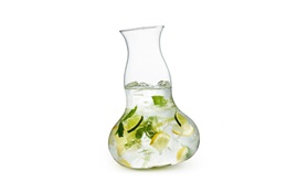Motion carafe large action function with lime water gin tonic