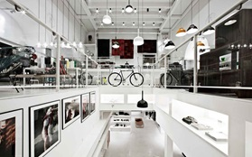Normann copenhagen flagship store staircase view