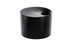 Stepp two ash tray black frontview