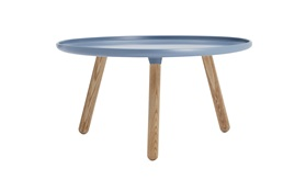 Tablo tables large blue frontview on a white background